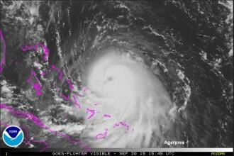 Uraganul Joaquin, de categoria 4 pe o scara de 5, ameninta coasta de est a SUA