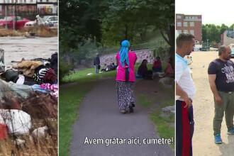 Cum strang bani cersetorii romani in tarile scandinave. Gratare in parcurile din Stockholm, vile in tara lor