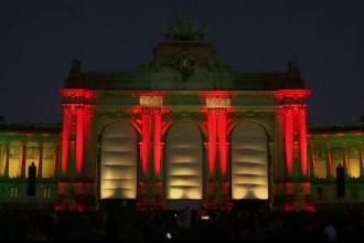 Spectacol de muzica si lumini la Bruxelles. Mii de oameni au sarbatorit 25 de ani de la reunificarea Germaniei