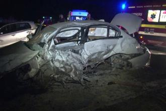 O depasire riscanta a provocat un accident grav in Botosani. Un sofer risca sa ramana infirm, iar altul sa isi piarda vederea