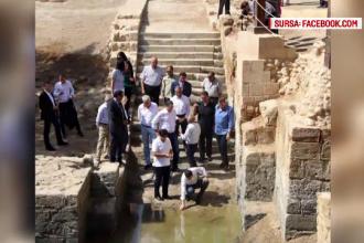 Victor Ponta a vizitat locul unde s-ar fi botezat Iisus: