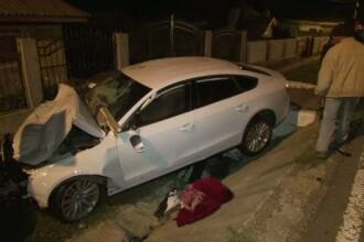 Caruta izbita in plin de o masina, in Vrancea. Patru persoane, printre care si o fetita de 7 ani, au murit