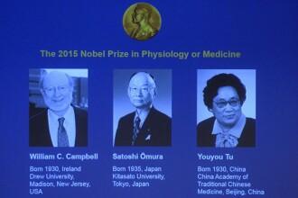 William Campbell, Satoshi Omura si Youyou Tu, premiul Nobel pentru Medicina. Descoperirile care le-au adus distinctiile