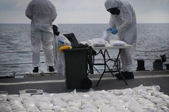Captura de o jumatate de tona de heroina a Marinei australiene. Ce au facut expertii cu drogurile de 126 milioane de dolari