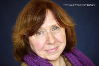 Svetlana Alexievici a castigat premiul Nobel pentru literatura. Ce spune despre Putin: