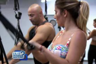 Amalia Enache dezvaluie reteta rezistentei la oboseala. De la sala de forta, la pupitrul stirilor si la