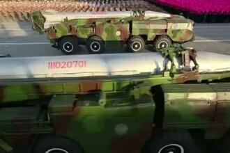 Mesajul lui Kim Jong-Un, la parada militara de la Phenian: