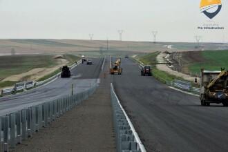 Stadiul lucrarilor pe autostrada A1 Timisoara - Lugoj, Lot 2. Care sunt sansele sa fie deschisa anul acesta