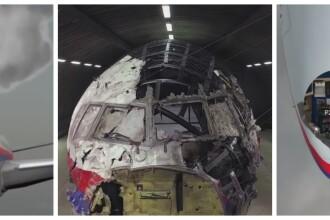 Concluziile in cazul zborului MH17: racheta BUK a lovit intai cabina pilotilor. Cum a fost doborat avionul: ANIMATIE GRAFICA