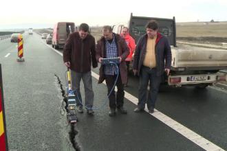 Constructorii autostrazii demolate dau vina pe statul roman.