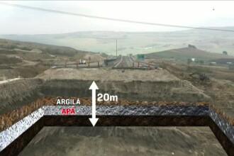 Autostrada de peste apa a Romaniei. Explicatia pentru dezastrul de pe Orastie-Sibiu sta sub terenul pe care a fost construita