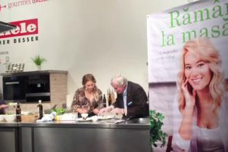 Laura Cosoi a gatit la Targul de Carte de la Frankfurt. Vedeta a castigat un important premiu pentru cartea sa de bucate