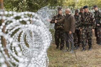 Budapesta: Sunt sanse mari ca Ungaria sa fie nevoita sa construiasca un gard la granita cu Romania