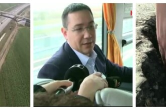 Autoritatile au inaugurat autostrada Sibiu - Orastie, desi ar fi stiut ca se putea prabusi. Ce spunea Ponta in noiembrie 2014