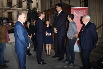 Imaginea saptamanii in Marea Britanie. Printul William s-a intalnit cu fostul baschetbalist chinez Yao Ming