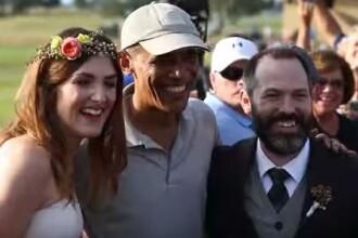 Surpriza uriasa de care a avut parte un cuplu din SUA. Cine si-a facut aparitia la nunta lor