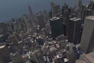 Cum arata New York-ul prin ochii unei pasari. Simulatorul care iti ofera senzatia zborului, inventat de elvetieni