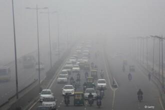 Masura disperata pe care a luat-o cel mai poluat oras din lume ca sa isi curete aerul. Experimentul a durat 5 ore