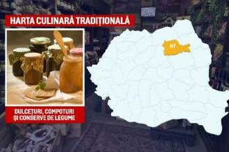 15 judete din Romania nu se pot lauda cu produse traditionale. Zonele recunoscute pentru identitatea lor culinara
