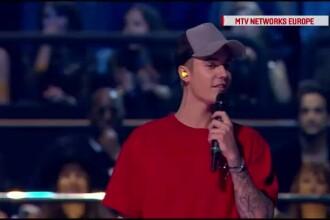 MTV Europe Music Awards: Justin Bieber, marele castigator. Un cantaret celebru le-a dedicat o piesa refugiatilor