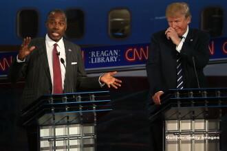 Alegeri SUA 2016. Carson il depaseste in sondaje pe Trump. Topul gafelor: