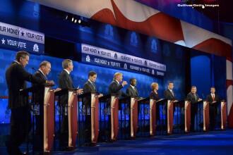 Scandal la CNBC. Candidatii republicani la nominalizarea pentru alegerile prezidentiale din SUA au atacat presa