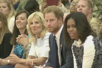 Printul Harry, in vizita la presedintele Obama. Nepotul reginei promoveaza competitia sportiva Invictus Games