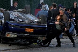 Jennifer Lopez, fotografiata plina de sange pe platoul de filmare al noului ei serial - Shades of Blue