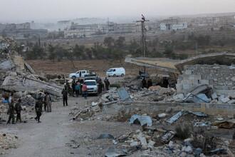 Cel putin 17 morti si mai multi raniti in Alep, dupa explozia unei masini capcana. OSDO: Bilantul s-ar putea inrautati