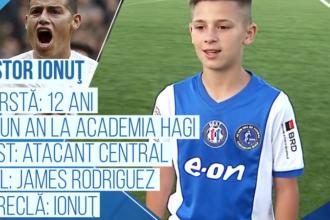 Campionii Viitorului | Pustiul cu care Academia Hagi va ataca la Cupa Natiunilor Danone, sub ochii lui Zidane
