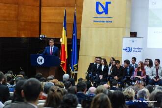 Presedintele Klaus Iohannis, catre studenti:
