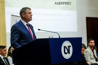 Iohannis, despre cazul Kovesi: Cine a plagiat, pleaca; o persoana acuzata pe nedrept, sa beneficieze de refacerea renumelui