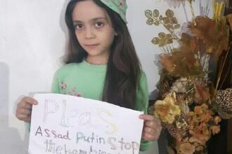 Fetita de 7 ani din Alep care isi povesteste pe Twitter viata printre bombe.