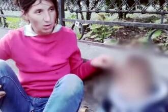 Victimele nevinovate ale parintilor alcoolici: fetita de 2 ani, filmata in ipostaze socante langa mama: