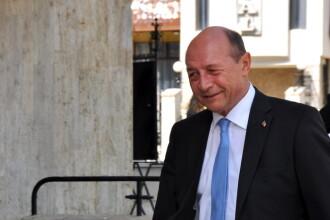 Fostul presedinte Traian Basescu, la Instanta Suprema.
