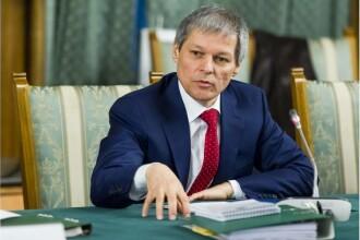 Premierul Dacian Ciolos: