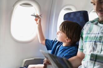 Compania aeriana care introduce zonele unde copiii vor avea accesul interzis. Reactiile impartite ale calatorilor