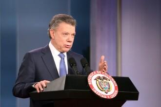 Juan Manuel Santos, presedintele Columbiei, a luat Premiul Nobel pentru Pace, pentru acordul istoric cu gherilele FARC