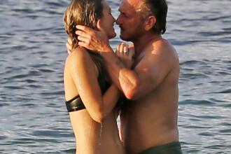 Sean Penn a uitat-o pe Charlize Theron si are o iubita cu 30 de ani mai tanara decat el. Ipostazele in care au fost surprinsi