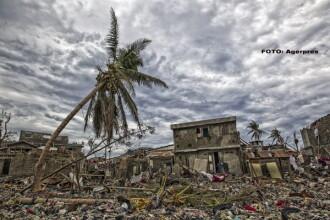 GALERIE FOTO cu dezastrul facut pana acum de Uraganul Matthew, cel mai puternic din ultimii 118 ani. Imagini ca in filme