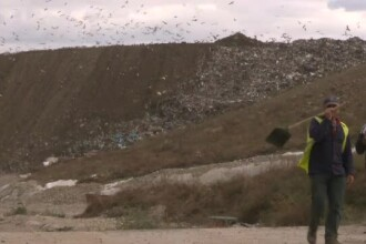 Persoanele care stau in apropierea gropilor de gunoi, in pericol. Gazul care poate provoca decesul a depasit limita admisa