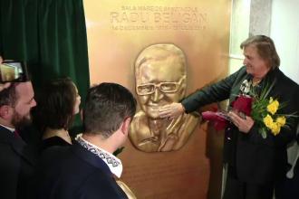 Sala mare a Ateneului din Iasi va purta numele lui Radu Beligan. Fiica actorului si Florin Piersic au participat la ceremonie
