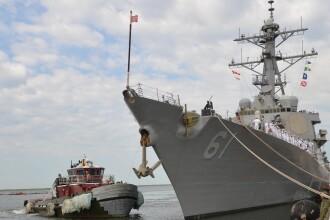 Nava de razboi americana, atacata cu rachete in Marea Rosie. Incidentul ar putea fi legat de masacrul din Yemen