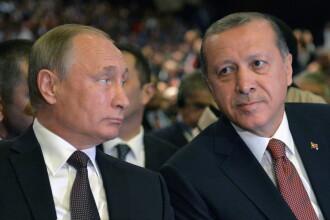 Vladimir Putin, vizita in Turcia. Ce a urmat dupa ce a anuntat ca Rusia e gata sa inghete sau sa reduca productia de petrol