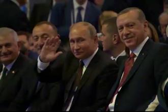 La mai putin de un an dupa ce i-a doborat avionul, Erdogan e din nou prieten cu Putin. Acordul semnat de cei doi lideri