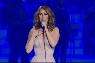 Celine Dion se pregateste pentru concertul cu numarul 1001, in Las Vegas.