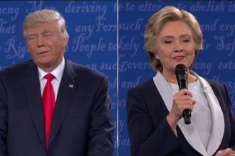 Distanta enorma care ii desparte pe Hillary Clinton si Donald Trump in acest moment. Cifrele indicate de ultimul sondaj