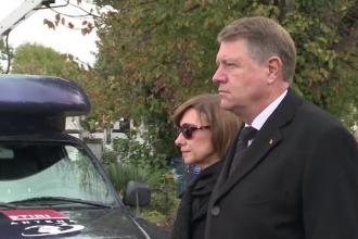 Presedintele Klaus Iohannis si-a condus soacra pe ultimul drum. Mama primei doamne a fost inmormantata marti