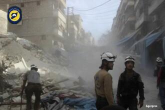 20 de atacuri aviatice ale Rusiei si Siriei au lovit Alep. Cel putin 71 de oameni au murit, printre care 4 copii