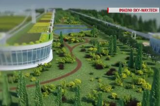 Proiectul care ar crea cel mai avangardist oras din tara si afaceri de 600 de mil. de euro anual. Localnicii cer trotuare